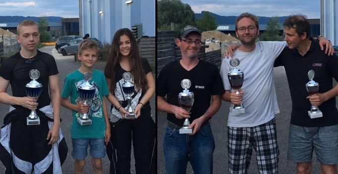 Sieger Kart-Race Develier - Kartrennen