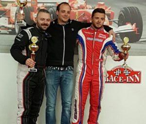 Fabio Lucca (2.), Stefano Locher (1.) und Pascal von Allmen (3.)