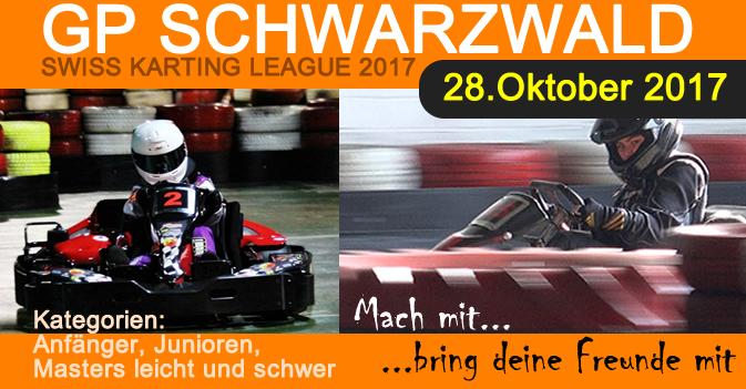 GP Schwarzwald 2017 Kartrennen Meisterschaft SKL Swiss Karting League