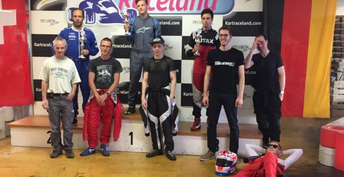 GP Weil am Rhein 2017 Kartrennen Kartraceland Swiss Karting League
