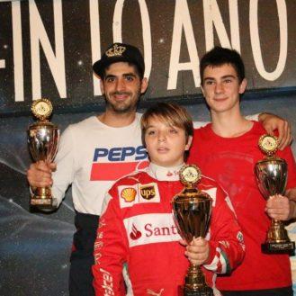 Antonino Pillera, Colin Künzi und vorne Dario Sebastiano