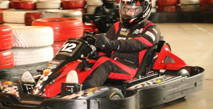 Michael Brändle Schweizer Indoorkart Meister der Swiss Karting League