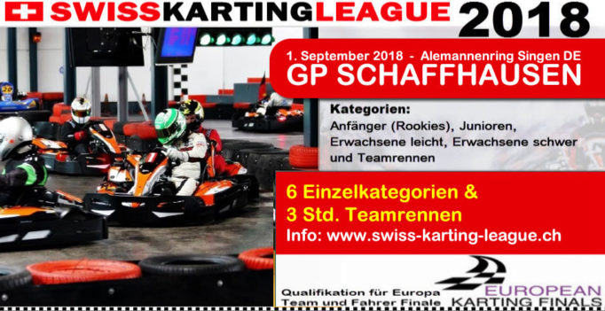 GP Schaffhausen Kartrennen 2018