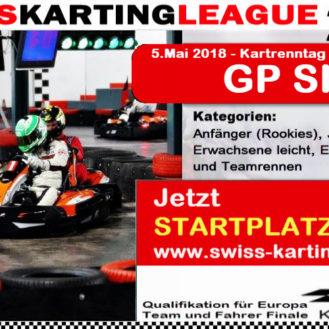 Kartrennen Kartbahn Singen Alemannenring 5.Mai 2018 SWISS KARTING LEAGUE