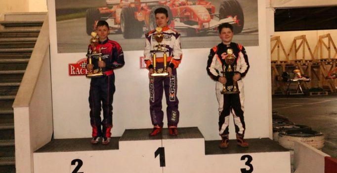 Sebastian Häfeli EKF Kart Champion 2018