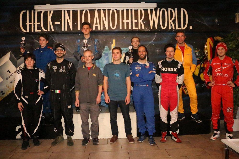 Masters Leicht GP Waldshut Kartrennen 2018