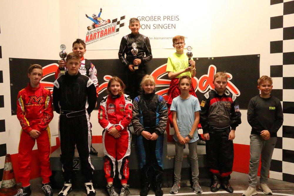 Junior Academy Kartrennen GP Singen 2018
