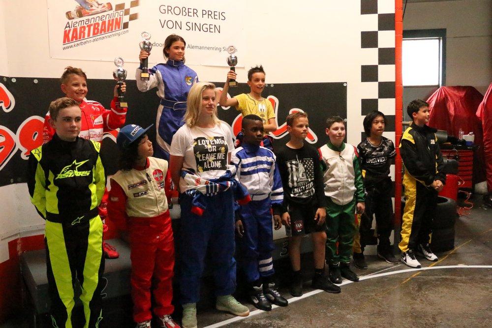 Rookie-KIDS Kartrennen GP Singen 2018