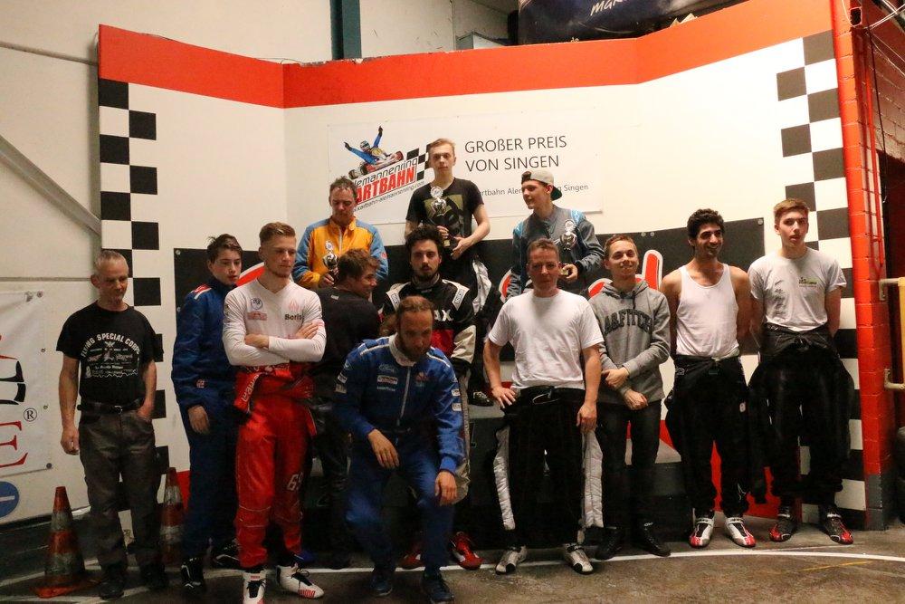 Masters-Leicht SKL-Kartmeisterschaft GP Singen 2018