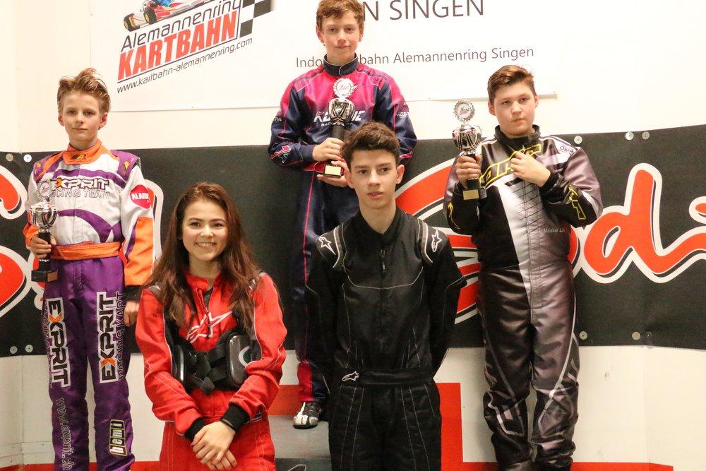 Junior Elite Kartrennen GP Singen 2018