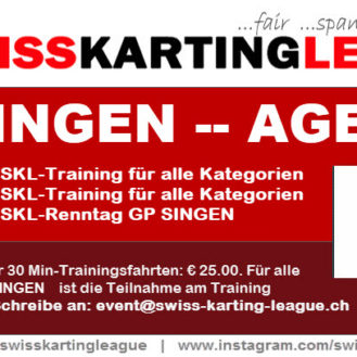 Kart Training GP Singen 2018