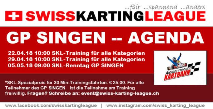 Kart Training GP Singen 2018