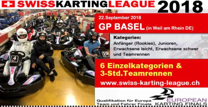 GP Basel Weil am Rhein Kartrennen Kartraceland