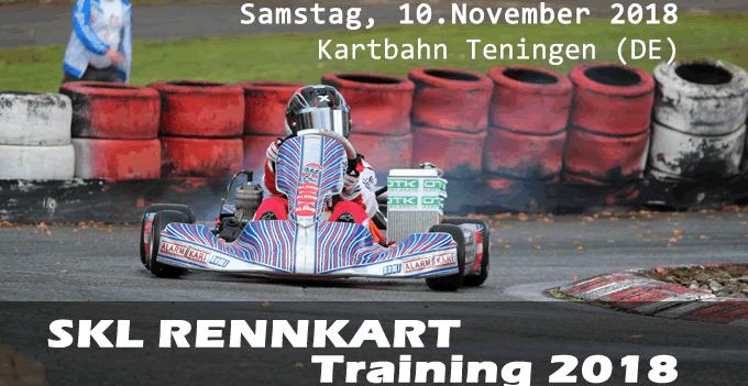 SKL Rennkart Training 2018 Teningen