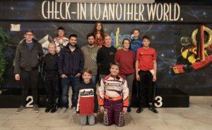 Podest SKL Karting Biathlon 2018 Masters Leicht