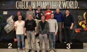 Podest SKL Karting Biathlon 2018 Masters Schwer