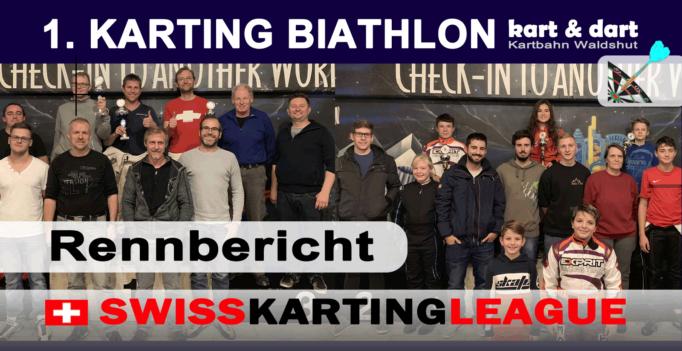 SKL Karting Biathlon Rennbericht 2018
