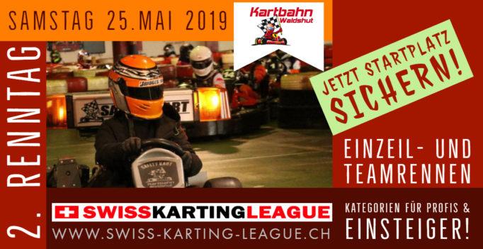 GP Waldshut 2019 Kartrennen auf der Kartbahn Waldshut SWISS KARTING LEAGUE