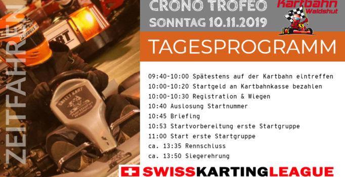 Kartrennen CronoTrofeo Kartbahn Waldshut