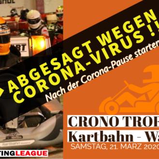 Crono Trofeo Waldshut abgesagt